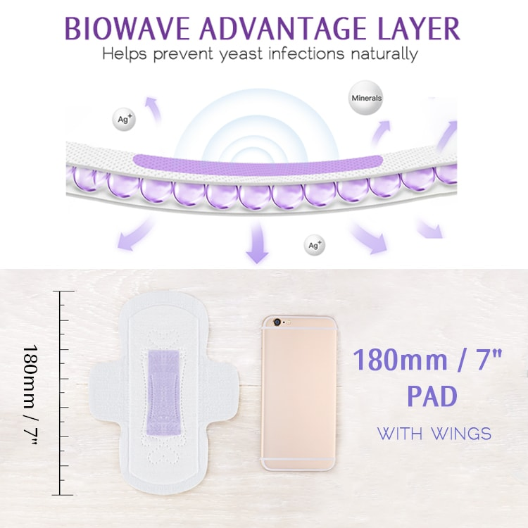 Diagram showing Biowave Advantage Layer and how it proviovides natural chemical free protection